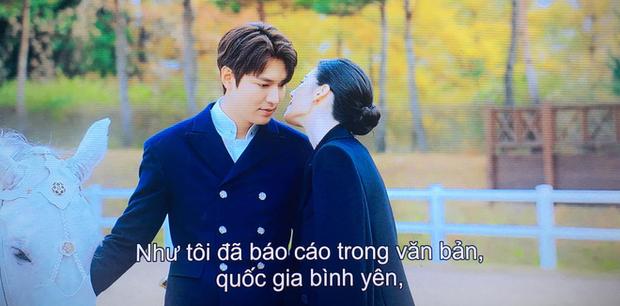 Tập 1 Quân Vương Bất Diệt mở màn bằng chiêu trò Lee Min Ho thả thính nữ thủ tướng, làm màu trước truyền thông? - Ảnh 7.