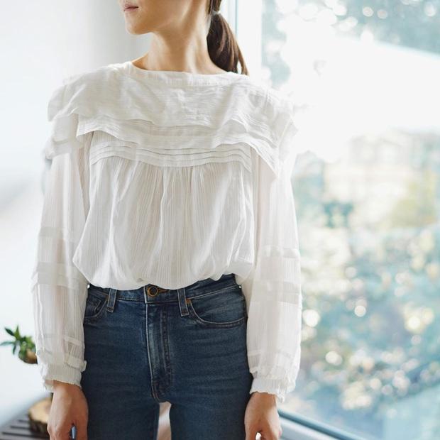 Ngắm bộ ảnh xuất thần của tiểu tam Thế Giới Hôn Nhân, sang chảnh đến mức ai cũng phải công nhận cặp đôi blouse + jeans là tuyệt nhất - Ảnh 5.