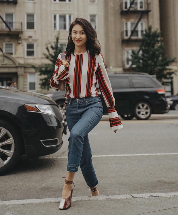 Ngắm bộ ảnh xuất thần của tiểu tam Thế Giới Hôn Nhân, sang chảnh đến mức ai cũng phải công nhận cặp đôi blouse + jeans là tuyệt nhất - Ảnh 9.