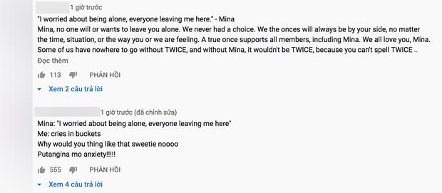 Fan dậy sóng khi Mina (TWICE) chia sẻ: Tôi sợ cô đơn. Mọi người bỏ lại tôi ở đây - Ảnh 7.