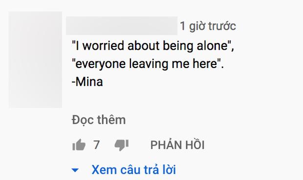 Fan dậy sóng khi Mina (TWICE) chia sẻ: Tôi sợ cô đơn. Mọi người bỏ lại tôi ở đây - Ảnh 6.