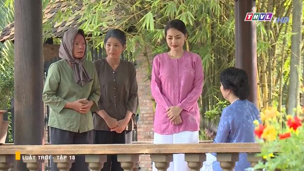 Huy Khánh tán tỉnh cả dì lẫn cháu nhà Ngọc Lan, âm mưu tranh tình yêu với cả cháu trai trong Luật Trời tập 18 - Ảnh 6.