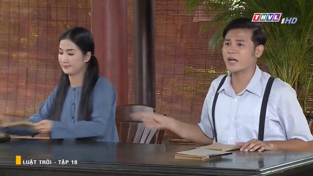 Huy Khánh tán tỉnh cả dì lẫn cháu nhà Ngọc Lan, âm mưu tranh tình yêu với cả cháu trai trong Luật Trời tập 18 - Ảnh 7.