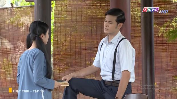 Huy Khánh tán tỉnh cả dì lẫn cháu nhà Ngọc Lan, âm mưu tranh tình yêu với cả cháu trai trong Luật Trời tập 18 - Ảnh 8.