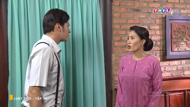 Huy Khánh tán tỉnh cả dì lẫn cháu nhà Ngọc Lan, âm mưu tranh tình yêu với cả cháu trai trong Luật Trời tập 18 - Ảnh 3.