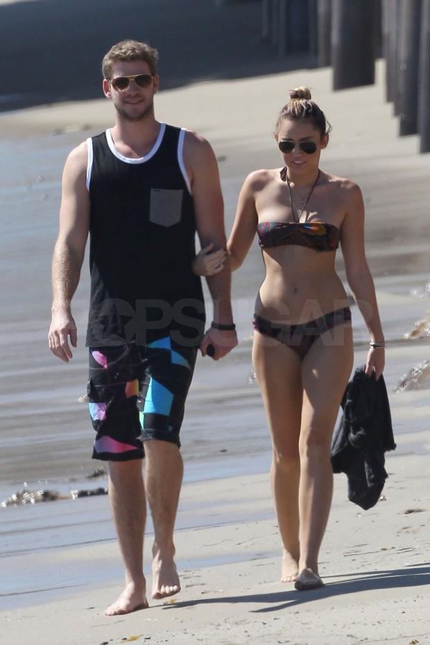 Thor Chris Hemsworth đá đểu Miley Cyrus trên bìa tạp chí chỉ bằng một chi tiết đặc biệt? - Ảnh 4.