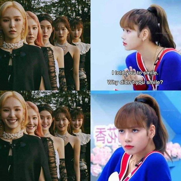 Cười xỉu với 1001 ảnh chế Lisa gay gắt bắt mọi người cười: Không tha từ Red Velvet tới Jiyeon, kéo xuống tấm cuối xin quỳ - Ảnh 5.