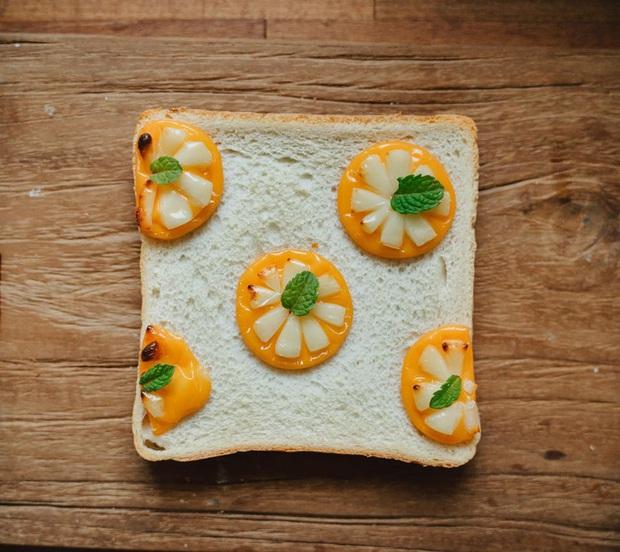 Ngán ăn sandwich theo cách bình thường, cô nàng 9X sáng tạo vẽ tranh lên bánh mì cực xinh xắn nhưng lại vô cùng dễ làm - Ảnh 8.