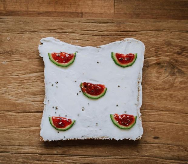Ngán ăn sandwich theo cách bình thường, cô nàng 9X sáng tạo vẽ tranh lên bánh mì cực xinh xắn nhưng lại vô cùng dễ làm - Ảnh 9.
