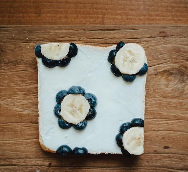 Ngán ăn sandwich theo cách bình thường, cô nàng 9X sáng tạo vẽ tranh lên bánh mì cực xinh xắn nhưng lại vô cùng dễ làm - Ảnh 7.