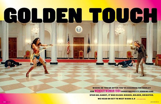 Wonder Woman 1984 tung ảnh nhân vật phản diện cứ như đi mượn từ Harley Quinn và Joker thế này - Ảnh 5.