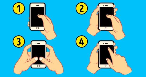 Bạn cầm điện thoại bằng cách nào: Điều đó sẽ tiết lộ rất nhiều sự thật bí ẩn về con người bạn  - Ảnh 1.