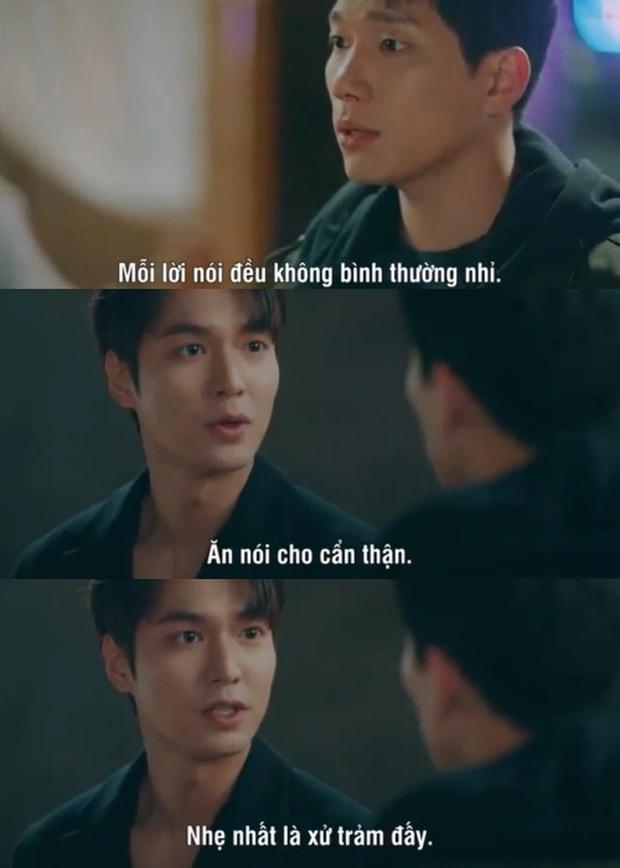 Loạt phát ngôn đi vào lòng đất của Lee Min Ho ở Quân Vương Bất Diệt: Anh đây không điên nửa mùa mà là quanh năm nhé! - Ảnh 10.