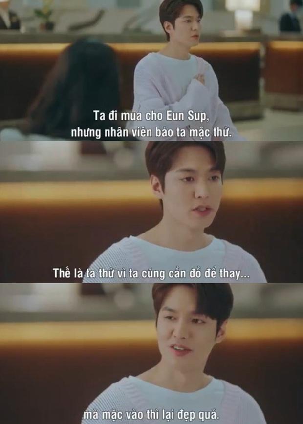 Loạt phát ngôn đi vào lòng đất của Lee Min Ho ở Quân Vương Bất Diệt: Anh đây không điên nửa mùa mà là quanh năm nhé! - Ảnh 7.