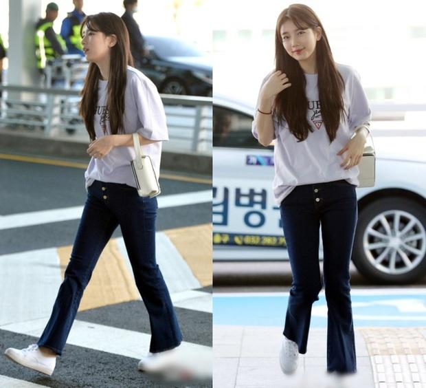 Nhìn Suzy quảng cáo quần jeans chân dài miên man thấy mê, ngó sang ảnh thật mới biết hóa ra chỉ là ánh trăng lừa dối - Ảnh 2.