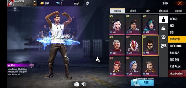 Free Fire: Garena tặng hàng loạt nhân vật hot, nhưng cái tên game thủ thèm muốn nhất là Alok lại không có! - Ảnh 4.