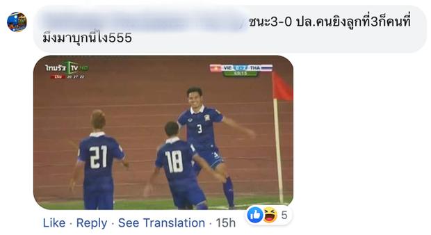 Fan bình luận Việt Nam chiến thắng, hậu vệ tuyển Thái Lan cùng CĐV nhà phản dame cực gắt, Văn Hậu cũng bị vạ lây - Ảnh 7.