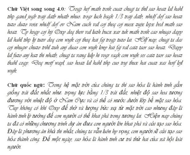 """""""Chữ Việt Nam song song 4.0"""" vừa được cấp bản quyền gây bão MXH thực chất là gì? Có gì mới? - Ảnh 16."""