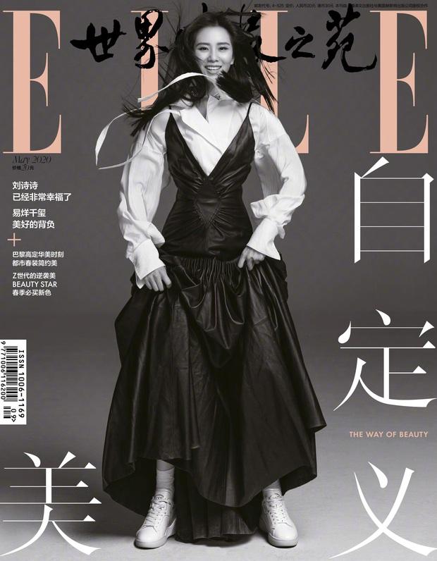 Ảnh tạp chí mới nhất của Lưu Thi Thi: Đang say đắm với vẻ đẹp không tì vết, kéo xuống ảnh cuối cùng Cnet hết hồn - Ảnh 8.