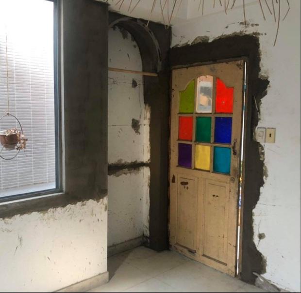 Không vừa ý với căn phòng vừa thuê, thanh niên khéo tay đập đi làm lại để có không gian mới không xinh không lấy tiền - Ảnh 3.