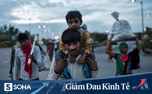 """Khủng hoảng COVID-19: Ấn Độ phong tỏa, nhiều lao động nghèo phải về quê vì """"không ai ăn được sỏi đá cả"""" - Ảnh 1."""