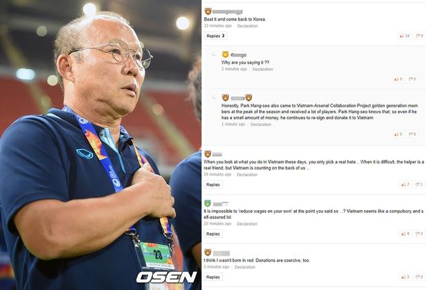 Netizen Hàn Quốc kêu gọi HLV Park Hang-seo từ chức và trở về nước sau khi bị nhắc khéo giảm lương - Ảnh 1.