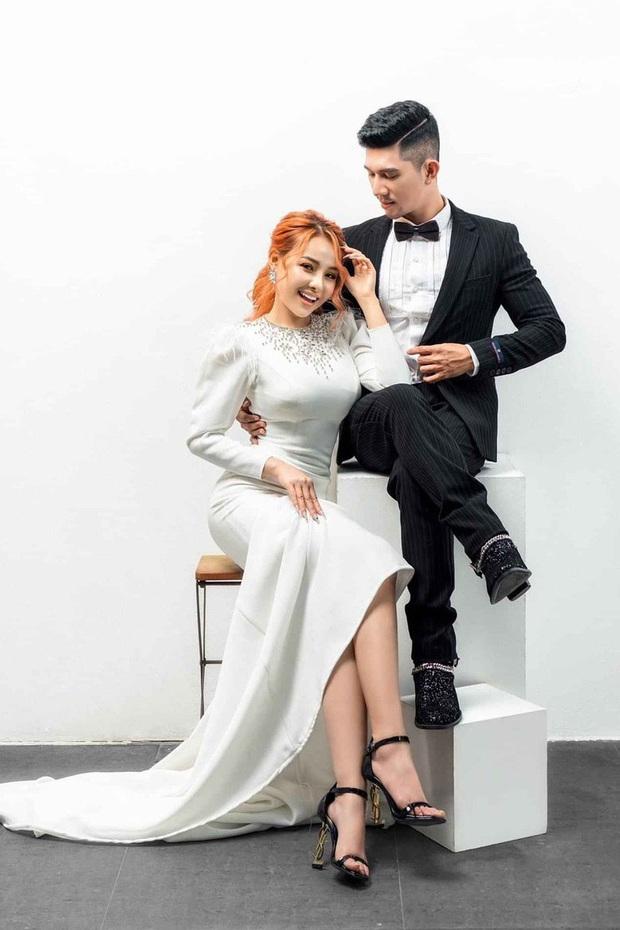 Lương Bằng Quang và Ngân 98 tung loạt ảnh cưới kèm tuyên bố hoãn lễ thành hôn vì COVID-19 - Ảnh 2.