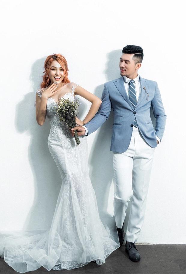 Lương Bằng Quang và Ngân 98 tung loạt ảnh cưới kèm tuyên bố hoãn lễ thành hôn vì COVID-19 - Ảnh 5.