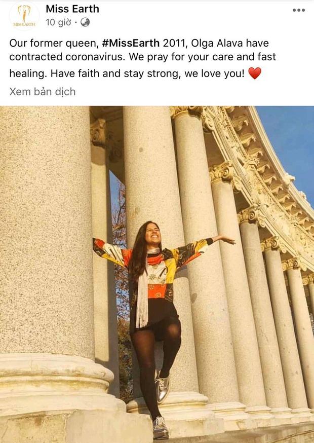 Miss Earth 2011 Olga Alava là Hoa hậu đầu tiên trên thế giới xác nhận dương tính với COVID-19 - Ảnh 2.