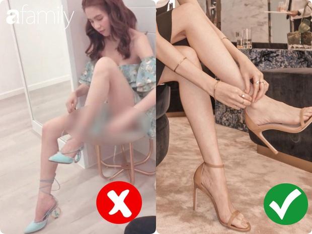 Ngọc Trinh bị chê kém duyên khi ngồi thử giày, các chị em chớ có mắc lỗi này khi mặc váy ngắn! - Ảnh 3.
