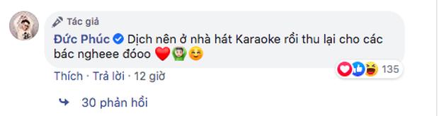Rảnh rỗi ở nhà hát karaoke mùa dịch, Đức Phúc cover bản ballad của Phạm Đình Thái Ngân vui vui mà lại khiến fan... muốn khóc giữa đêm - Ảnh 2.