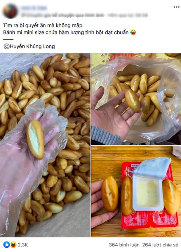 Xuất hiện món bánh mì mini đang hot trên MXH: chỉ dài bằng ngón tay, bon mồm ăn cả chục cái mới đã! - Ảnh 1.