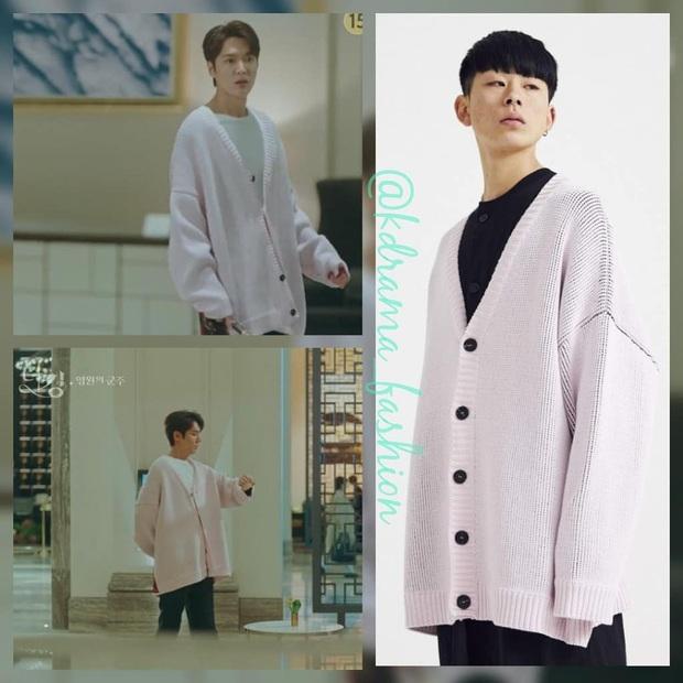 Xứng danh quân vương, Lee Min Ho diện nhiều đồ hiệu nhất phim, Kim Go Eun lại bị nữ phụ lấn lướt khoản váy áo - Ảnh 2.