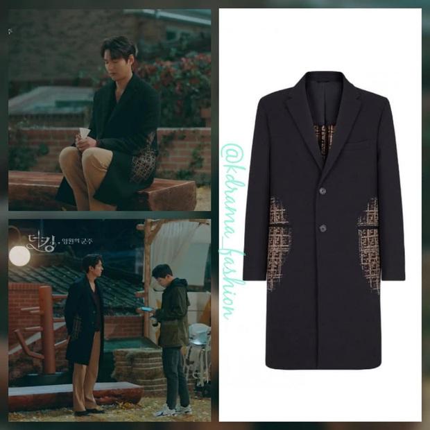 Xứng danh quân vương, Lee Min Ho diện nhiều đồ hiệu nhất phim, Kim Go Eun lại bị nữ phụ lấn lướt khoản váy áo - Ảnh 3.