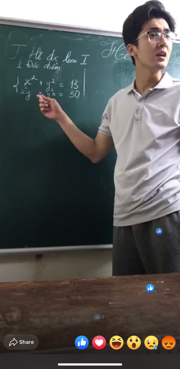 Profile anh thầy đẹp trai livestream dạy học được chú ý trên MXH khiến dân tình xung phong xin slot học chung - Ảnh 2.