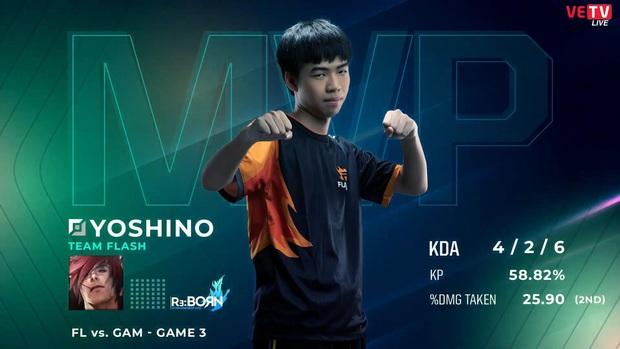 VCS mùa Xuân 2020: Đã rõ lý do Yoshino vắng mặt trong trận đại chiến giữa Team Flash và GAM Esports! - Ảnh 1.
