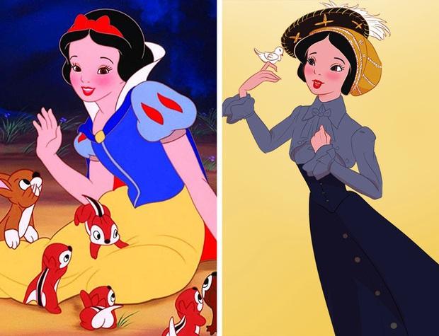 Ngắm nghía tạo hình gốc của loạt công chúa Disney mới biết hóa ra tuổi thơ chúng ta chỉ là một cú lừa! - Ảnh 1.