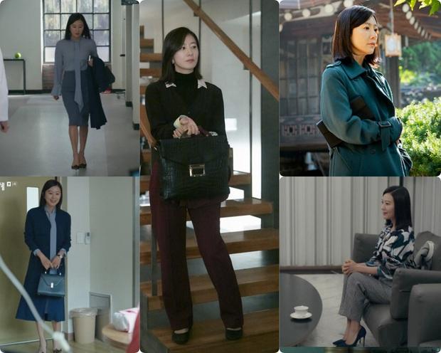 """BST túi của bà cả """"Thế Giới Hôn Nhân"""": Mỗi bộ chọn 1 túi khác nhau, xa xỉ nhất là túi Hermès gần 300 triệu - Ảnh 1."""