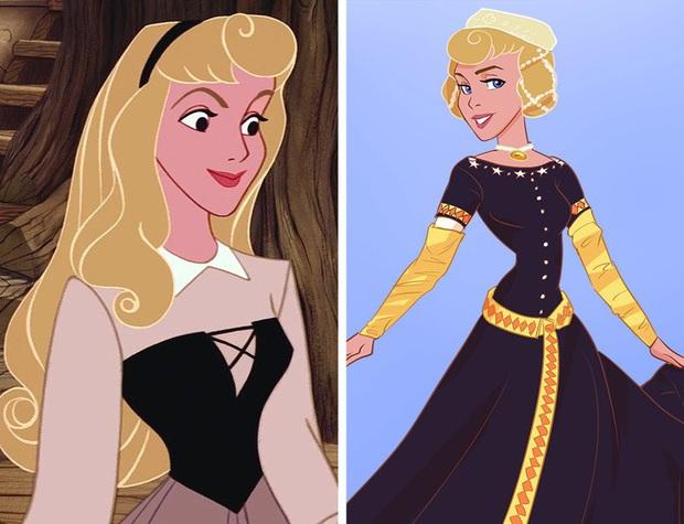 Ngắm nghía tạo hình gốc của loạt công chúa Disney mới biết hóa ra tuổi thơ chúng ta chỉ là một cú lừa! - Ảnh 3.