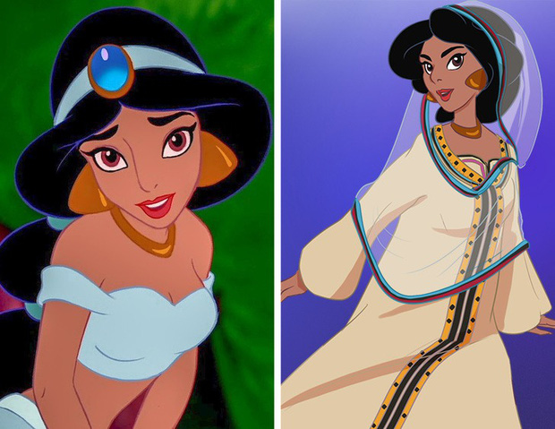Ngắm nghía tạo hình gốc của loạt công chúa Disney mới biết hóa ra tuổi thơ chúng ta chỉ là một cú lừa! - Ảnh 4.