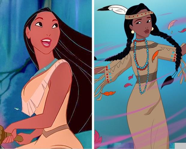 Ngắm nghía tạo hình gốc của loạt công chúa Disney mới biết hóa ra tuổi thơ chúng ta chỉ là một cú lừa! - Ảnh 5.
