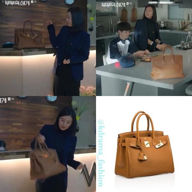 """BST túi của bà cả """"Thế Giới Hôn Nhân"""": Mỗi bộ chọn 1 túi khác nhau, xa xỉ nhất là túi Hermès gần 300 triệu - Ảnh 5."""