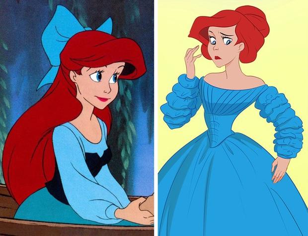 Ngắm nghía tạo hình gốc của loạt công chúa Disney mới biết hóa ra tuổi thơ chúng ta chỉ là một cú lừa! - Ảnh 7.