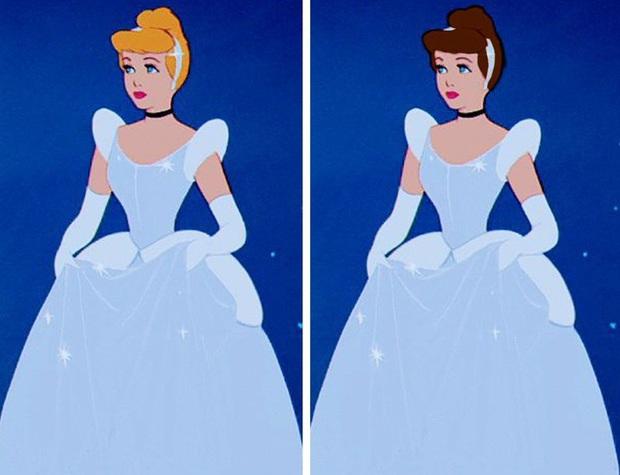 Ngắm nghía tạo hình gốc của loạt công chúa Disney mới biết hóa ra tuổi thơ chúng ta chỉ là một cú lừa! - Ảnh 8.