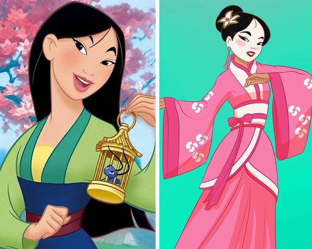 Ngắm nghía tạo hình gốc của loạt công chúa Disney mới biết hóa ra tuổi thơ chúng ta chỉ là một cú lừa! - Ảnh 9.