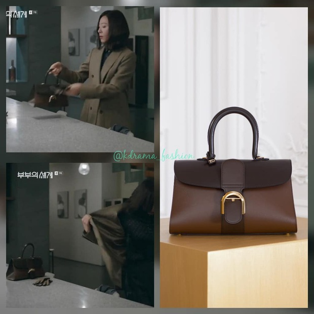 """BST túi của bà cả """"Thế Giới Hôn Nhân"""": Mỗi bộ chọn 1 túi khác nhau, xa xỉ nhất là túi Hermès gần 300 triệu - Ảnh 9."""