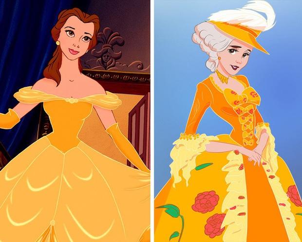 Ngắm nghía tạo hình gốc của loạt công chúa Disney mới biết hóa ra tuổi thơ chúng ta chỉ là một cú lừa! - Ảnh 10.