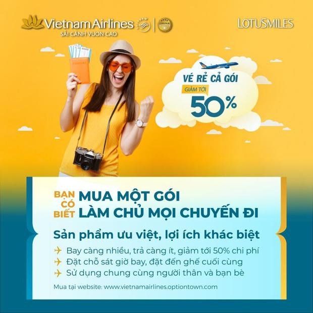 Vietnam Airlines vào cuộc trong cuộc đua bán vé trọn gói: hoá ra đã bán từ 7/2019 nhưng giờ còn nâng cấp xịn sò hơn - Ảnh 1.