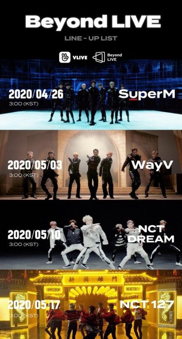 SM tuyên bố mở ra 1 kỷ nguyên mới cho live concert phát sóng online trả phí, SuperM cùng loạt unit của NCT chính là những nghệ sĩ tiên phong - Ảnh 4.