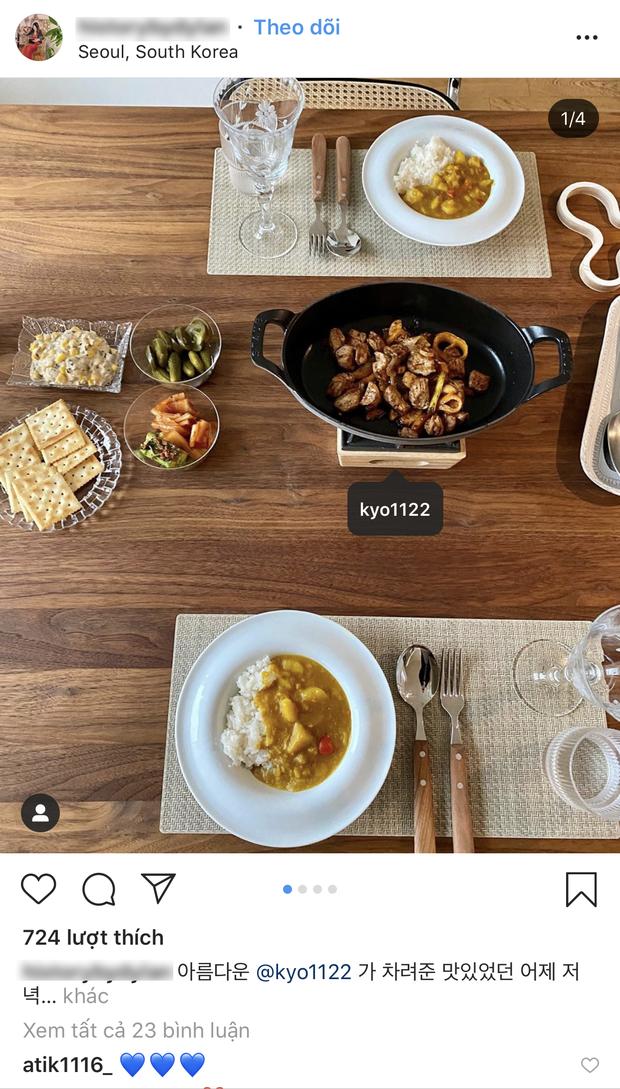 Lần đầu được thấy Song Hye Kyo nấu cơm nhà mùa dịch: Món Tây, món Hàn như nhà hàng, bạn bè khen hết lời vì cách bày trí - Ảnh 3.